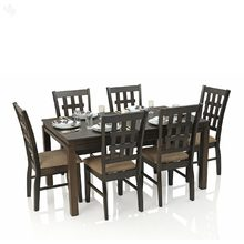 RoyalOak Daisy Dining Table Set with Six Chairs
